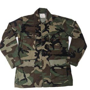 Authentic Military Uniform Camouflage Shirt